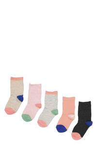 HEMA sokken - set van 5 multi, Multi