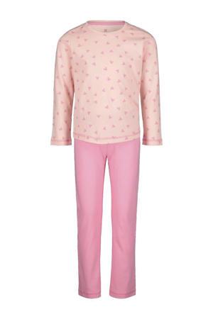 pyjama hartjes roze