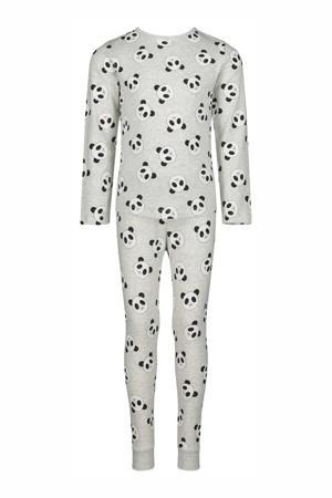 pyjama panda grijs