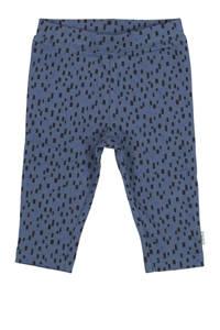 HEMA baby broek met all over print donkerblauw, Donkerblauw