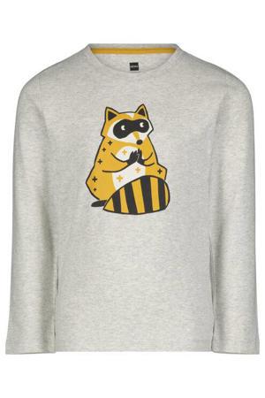pyjama dieren grijs/geel
