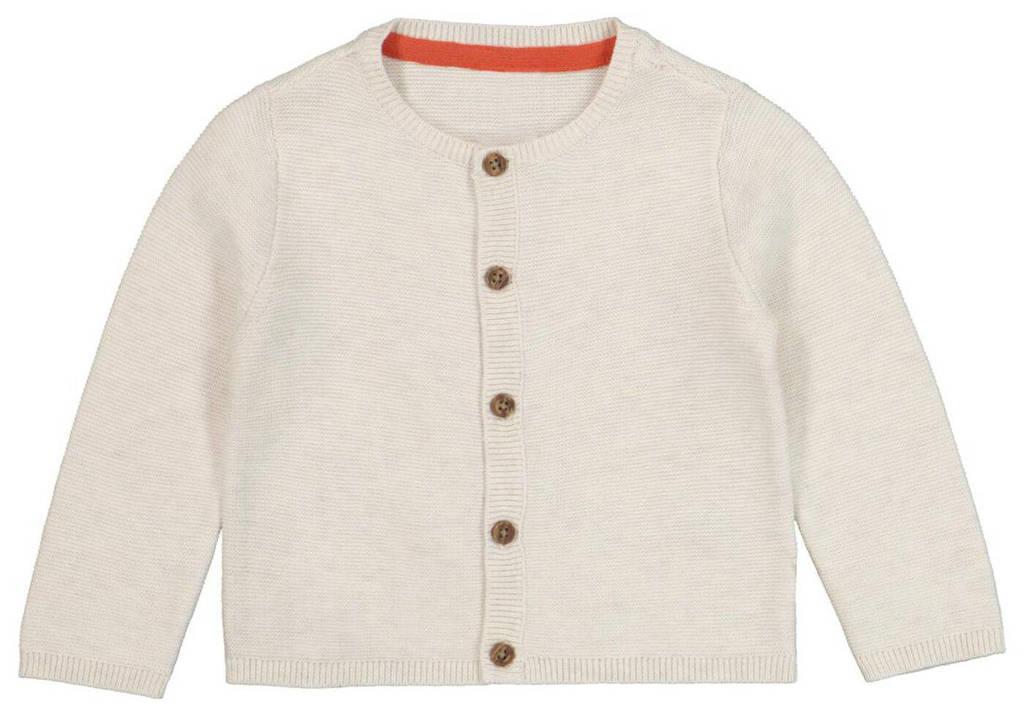 HEMA baby vest gebroken wit, Gebroken wit