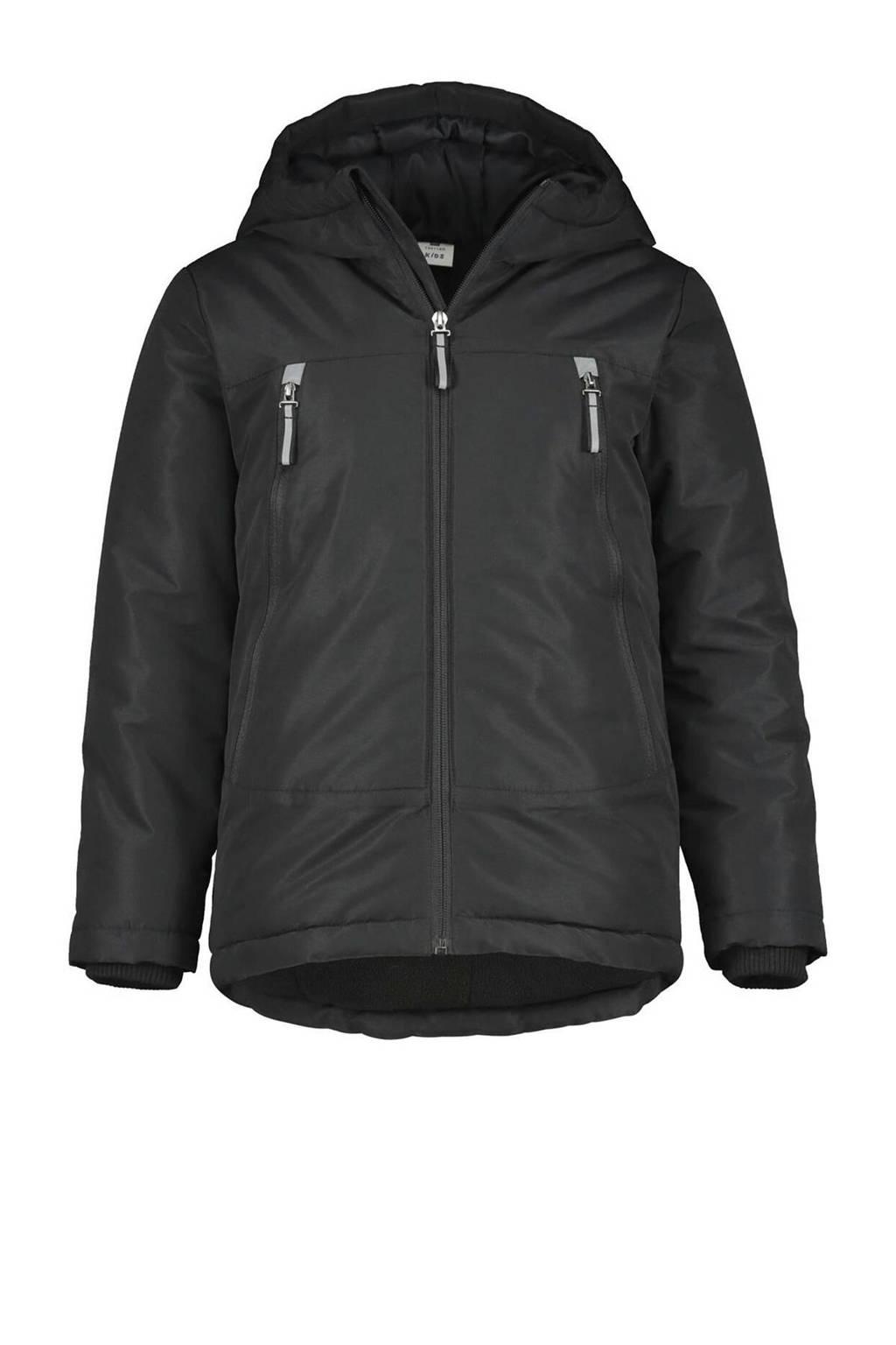 HEMA gewatteerde jas zwart, Zwart
