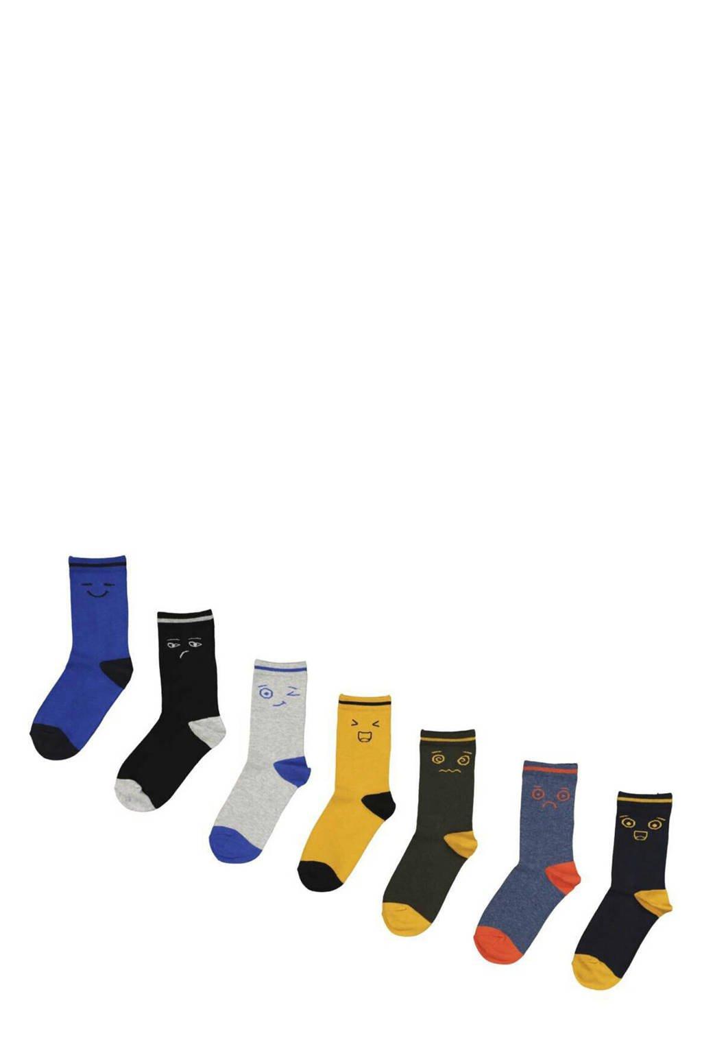HEMA sokken - set van 7 multi, Multi