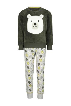 pyjama print groen