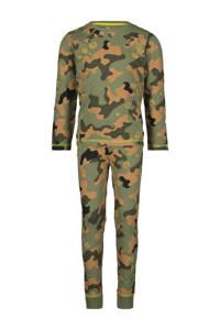 HEMA   pyjama camouflage groen, Groen