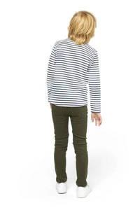 HEMA skinny jeans legergroen, Legergroen