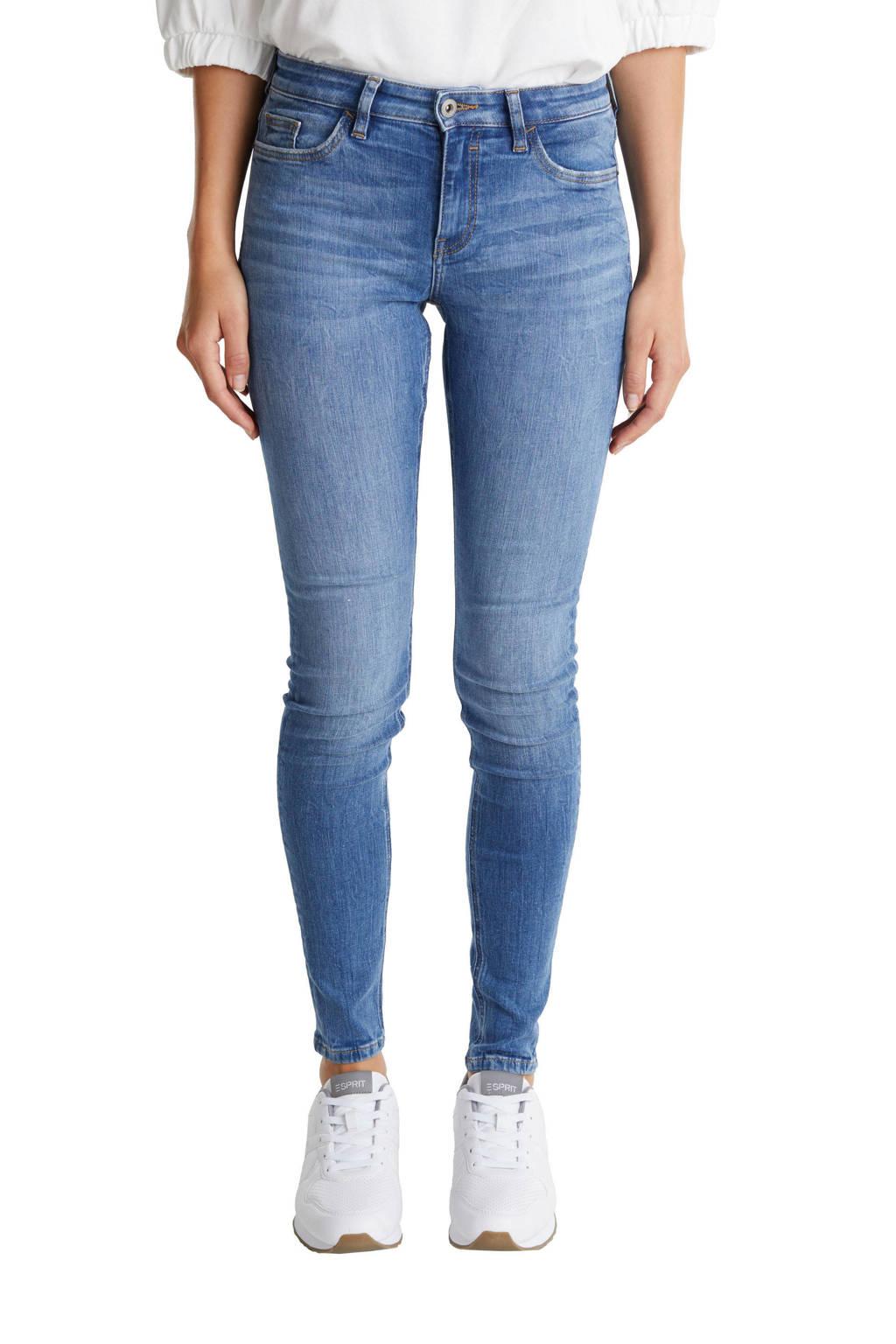 edc Women skinny jeans light denim stonewashed, Light denim stonewashed