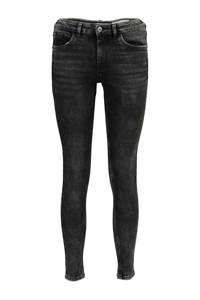 edc Women skinny jeans zwart stonewashed, Zwart stonewashed