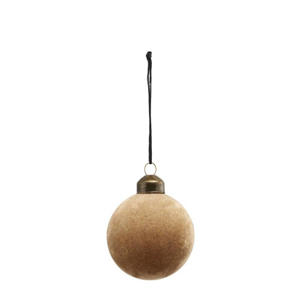 kerstdecoratie Light brown (Ø6 cm)