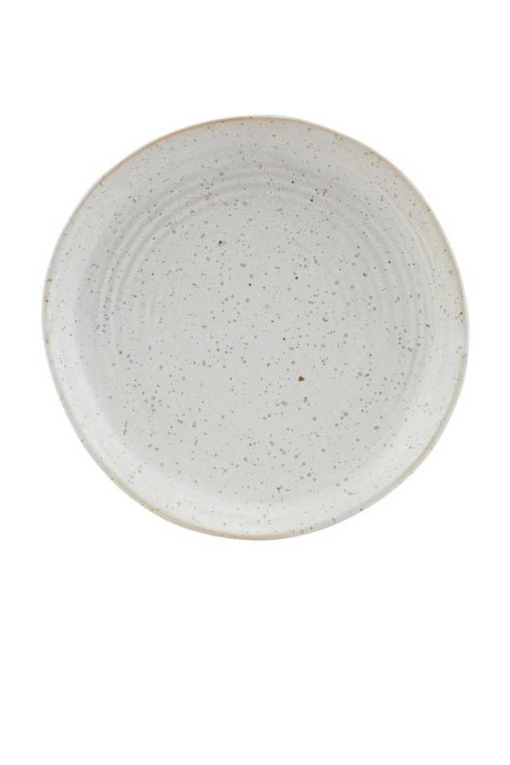 House Doctor gebaksbord Pion (Ø16,5 cm), Grijs/wit