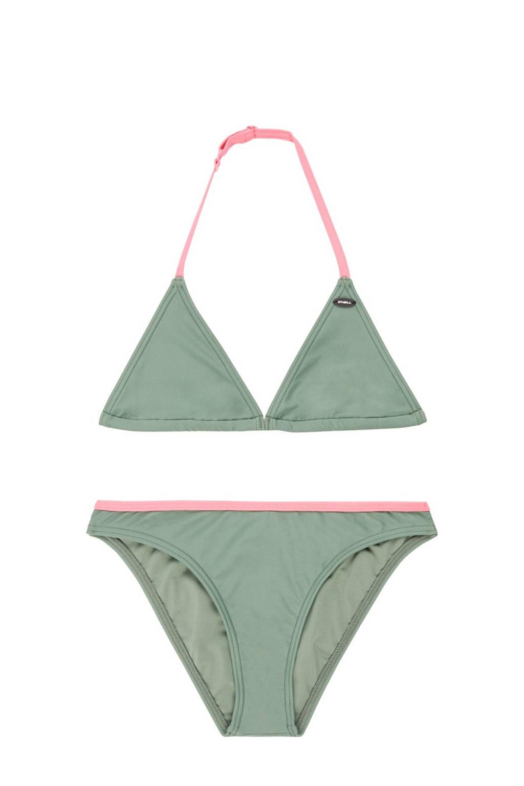 O'Neill triangel bikini Essential olijfgroen, Olijfgroen