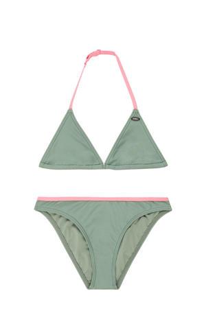 triangel bikini Essential olijfgroen