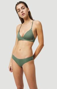 O'Neill triangel bikinitop Baay met all over print groen, Groen