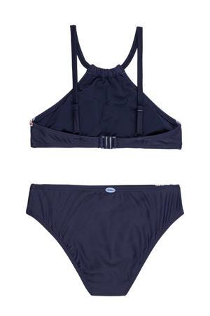 crop bikini Cali Holiday donkerblauw