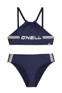 O'Neill crop bikini Cali Holiday donkerblauw, Donkergrijs