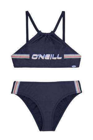 crop bikini Cali Holiday donkerblauw
