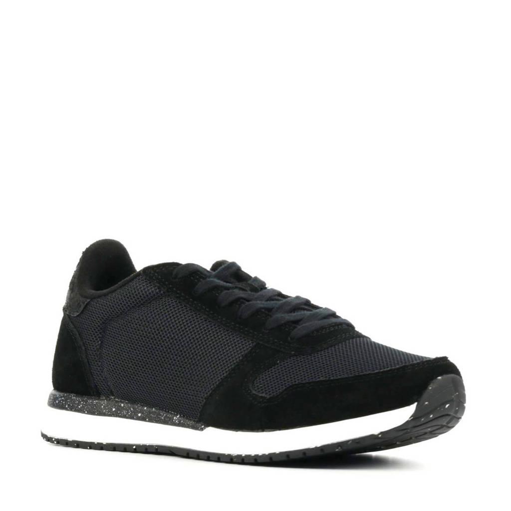 Woden Ydun Fifty  sneakers zwart, Zwart