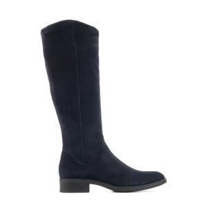 Peffa  suède laarzen donkerblauw