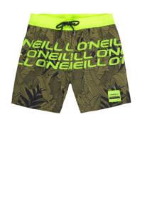 O'Neill zwemshort Stacked groen/geel, Groen/geel