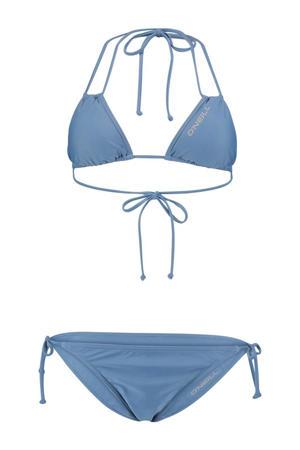 triangel bikini Capri Bondey blauw