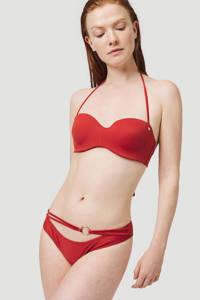 O'Neill strapless bandeau bikinitop Havaa C-cup rood, Bossa Nova Red