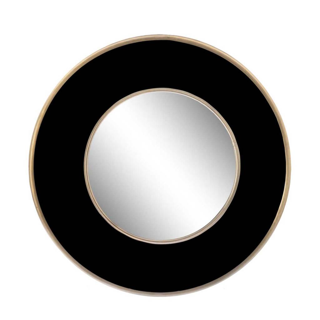 Riverdale spiegel Tess   (Ø60 cm), Zwart