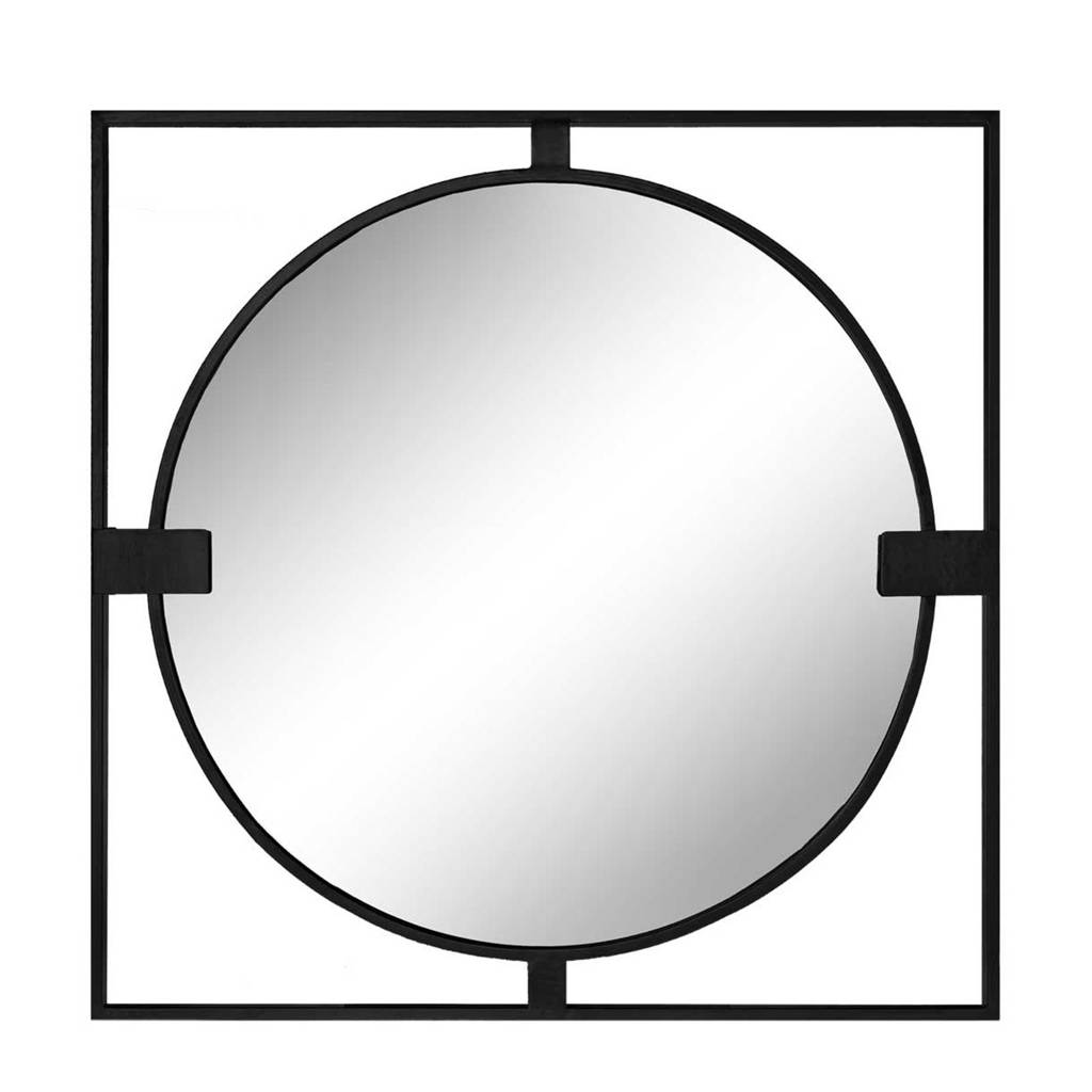 Riverdale spiegel Elwin (70cm)   (2x2x70 cm), Zwart