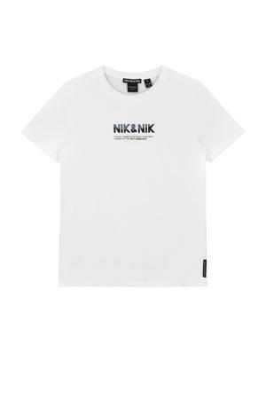 T-shirt Lenox met logo off white