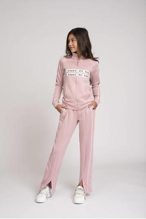 vest Paige met logo roze