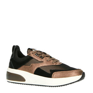 Cadwell  sneakers zwart/koper