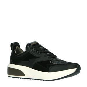 Creation  sneakers met pailletten zwart