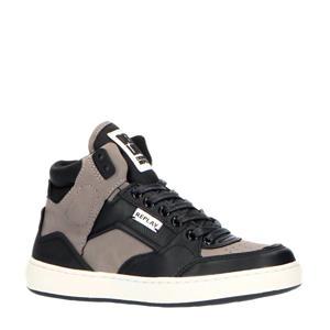 Bokkai  hoge sneakers grijs/zwart