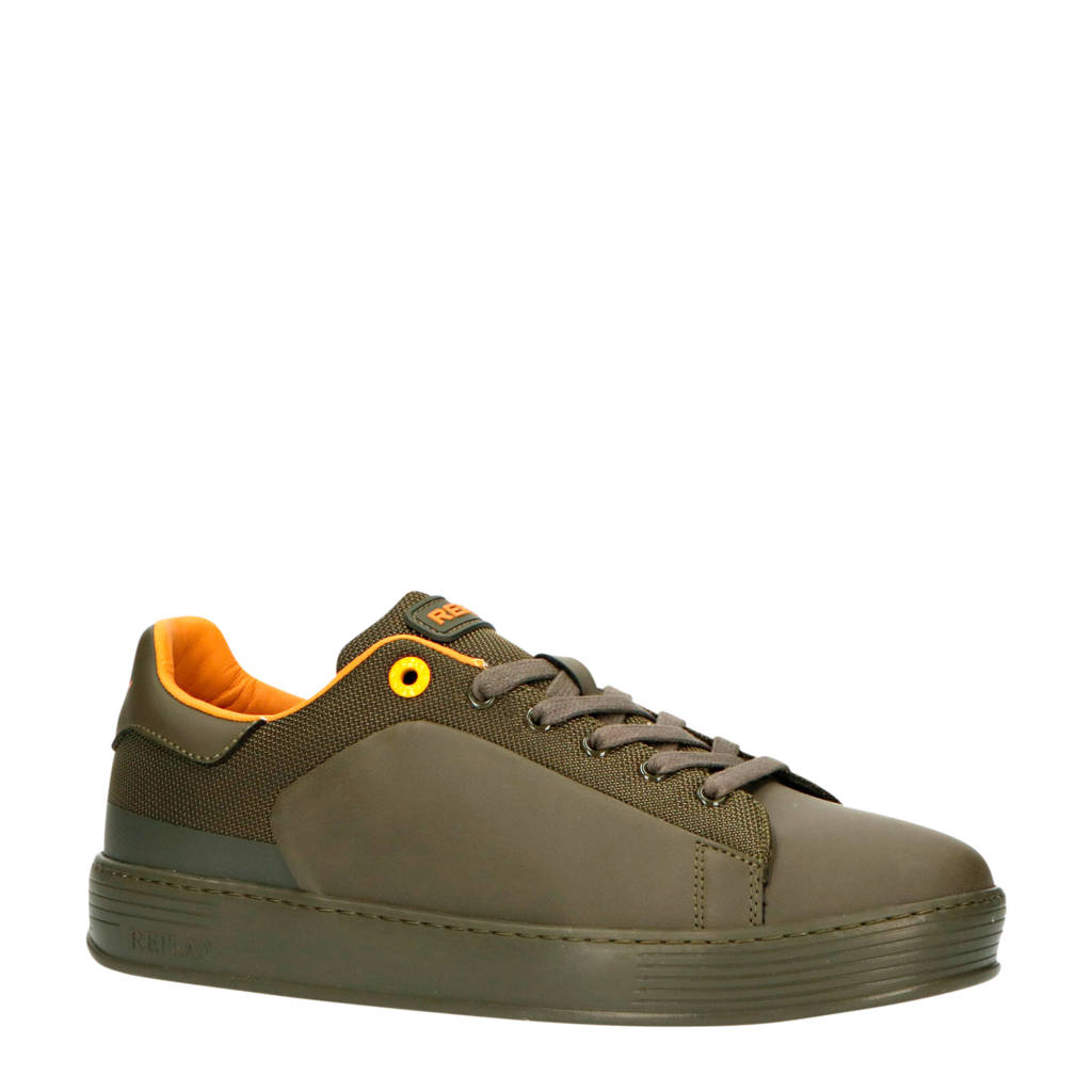 REPLAY Drow  sneakers groen, Groen