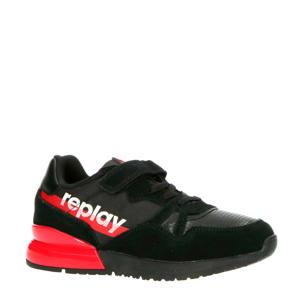 Swat  sneakers zwart/rood