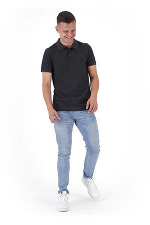 regular fit polo antraciet