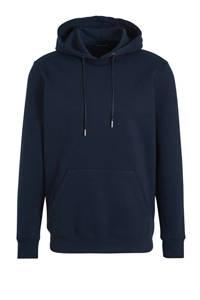 HEMA hoodie donkerblauw, Donkerblauw