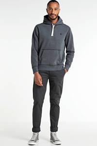 POLO Ralph Lauren hoodie donkergrijs melange, Donkergrijs melange