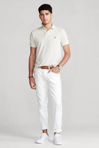 POLO Ralph Lauren regular fit polo wit, Wit