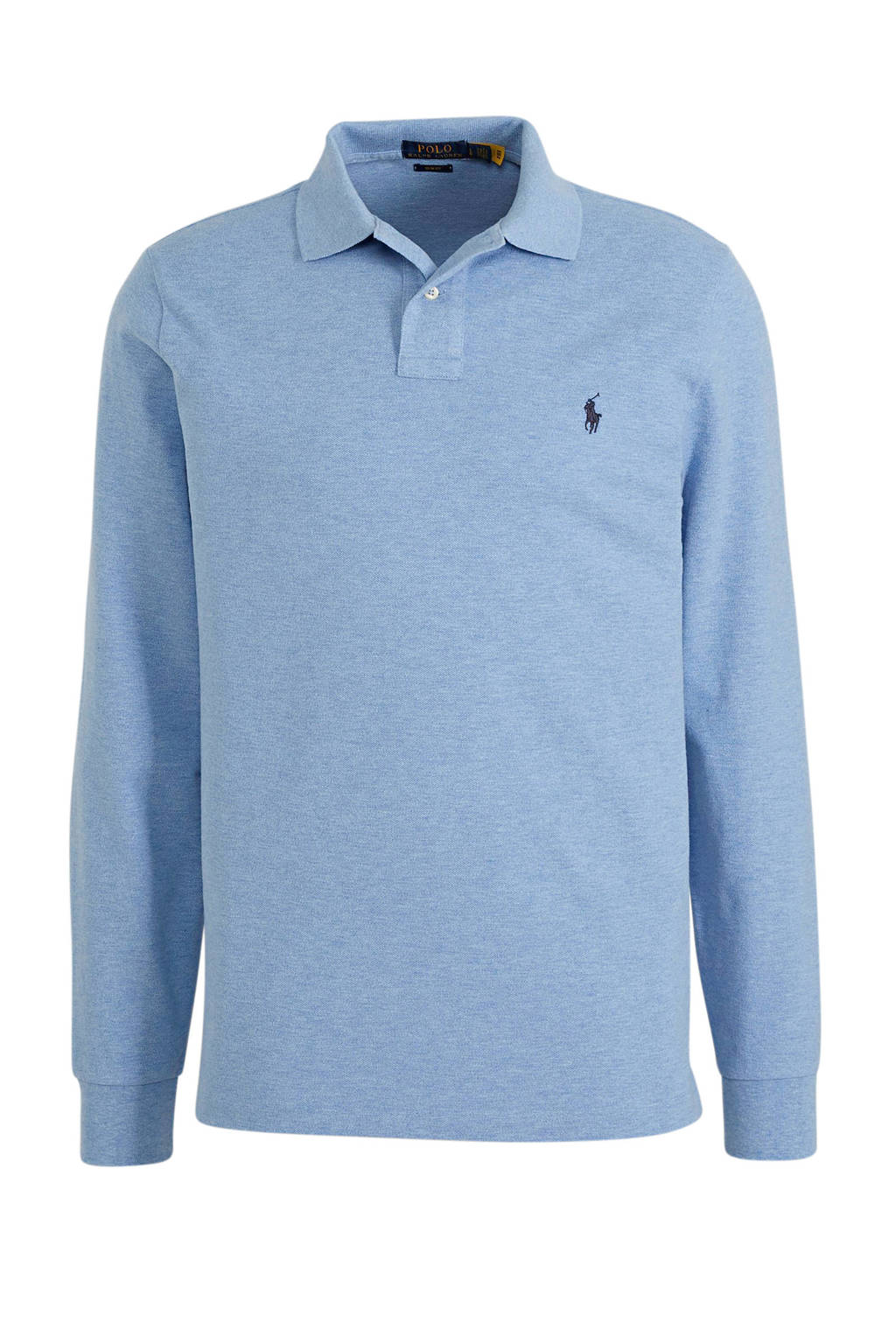 POLO Ralph Lauren regular fit polo lichtblauw, Lichtblauw