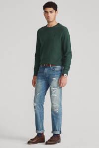 POLO Ralph Lauren fijngebreide trui donkergroen, Donkergroen