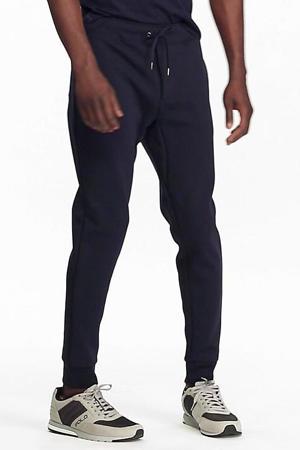 regular fit joggingbroek donkerblauw