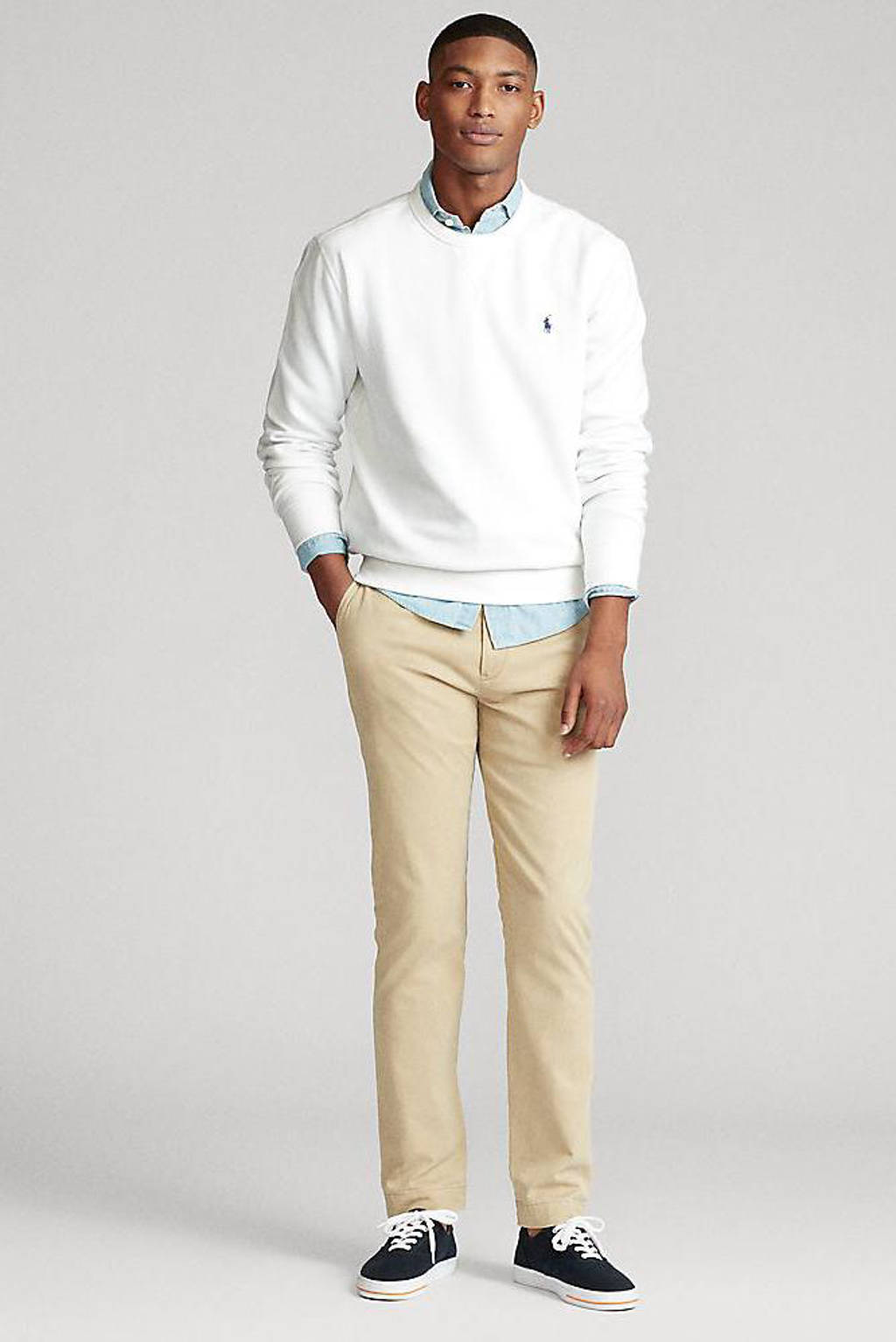 POLO Ralph Lauren sweater wit, Wit
