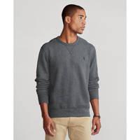 POLO Ralph Lauren gemêleerde sweater grijs melange, Grijs melange