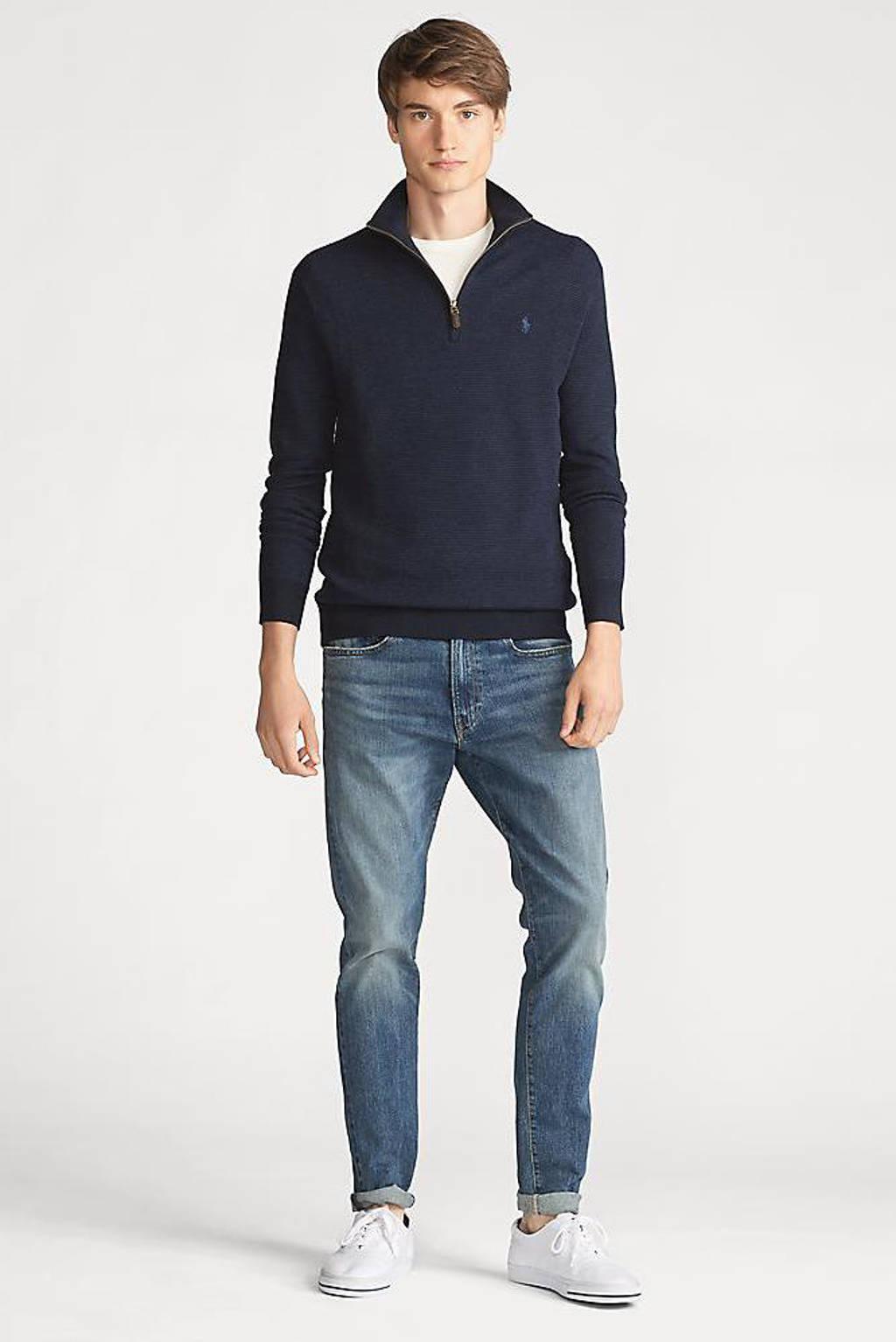 POLO Ralph Lauren wollen trui donkerblauw, Donkerblauw