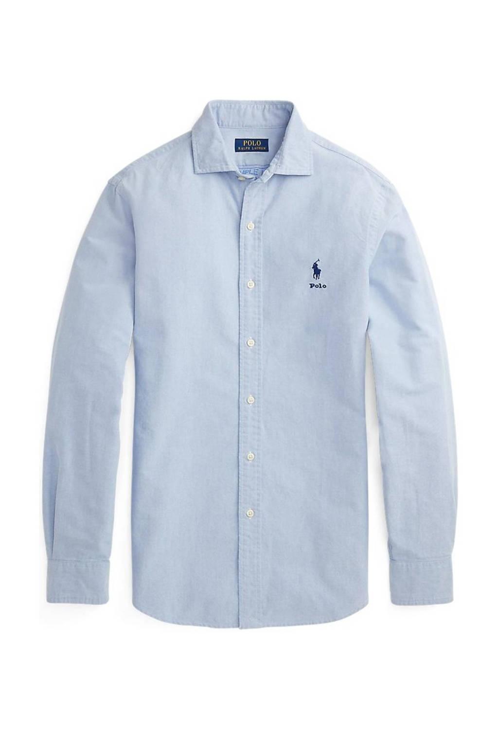 POLO Ralph Lauren regular fit overhemd lichtblauw, Lichtblauw
