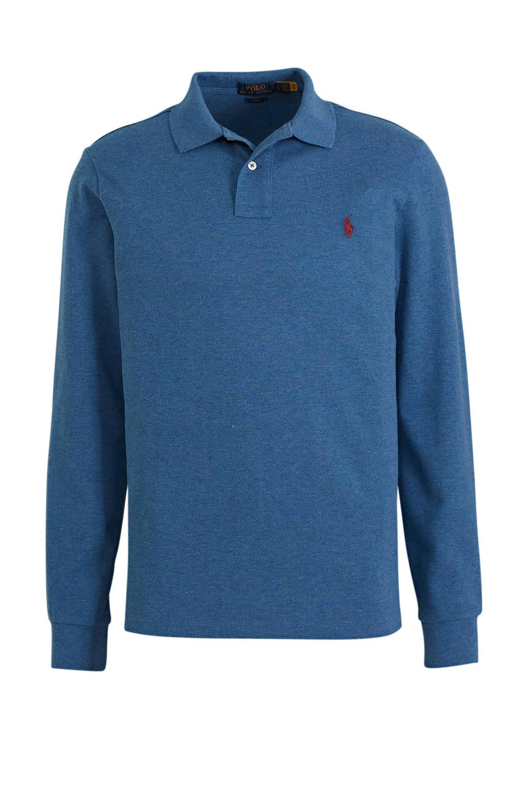 POLO Ralph Lauren regular fit polo blauw, Blauw