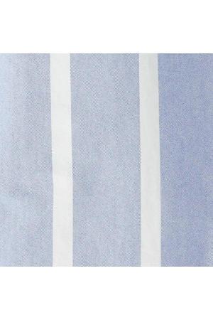 gestreept regular fit overhemd lichtblauw/wit