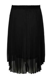 ONLY CARMAKOMA plissé rok Newsarah zwart, Zwart