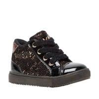 Scapino Blue Box   hoge sneakers zwart/goud, Zwart/goud